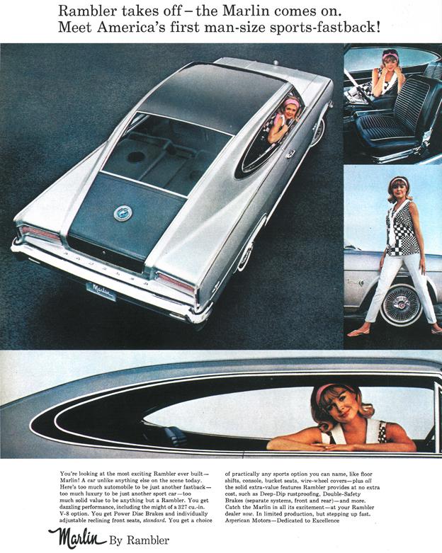 1965 - Rambler Marlin Werbung