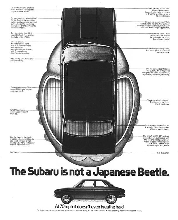 Werbung-Autorevue-1971-Subaru-Star-Sedan