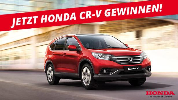 Honda CRV gewinnen!