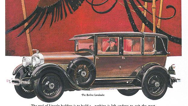 1927 - Lincoln Berline Landaulet