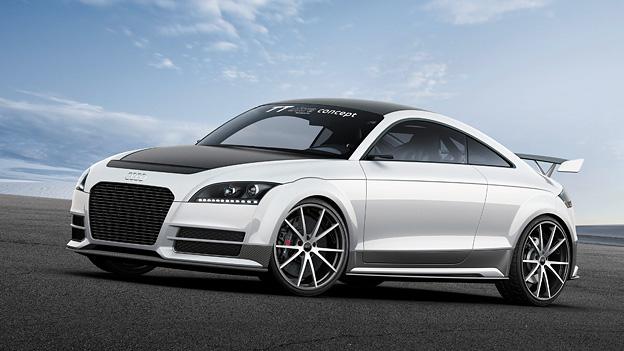 Das Audi TT ultra quattro concept als Leichtbau-Wunder