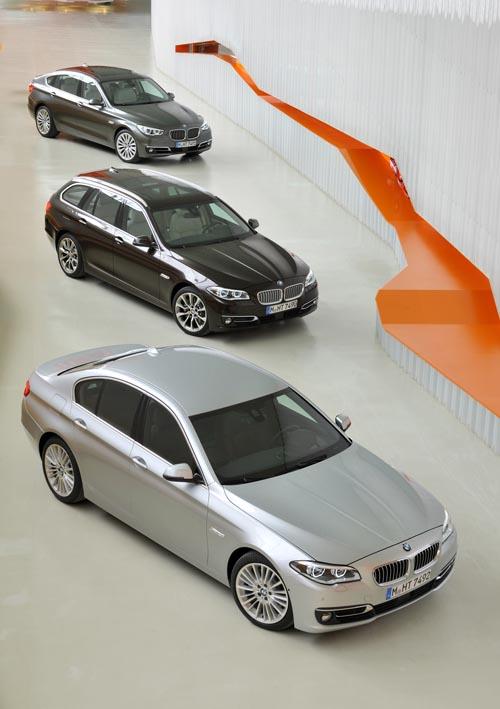 BMW 5er Gesamtpalette
