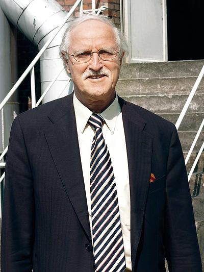 Prof. Dr.-Ing. Dietrich Stein von der Universität Bochum
