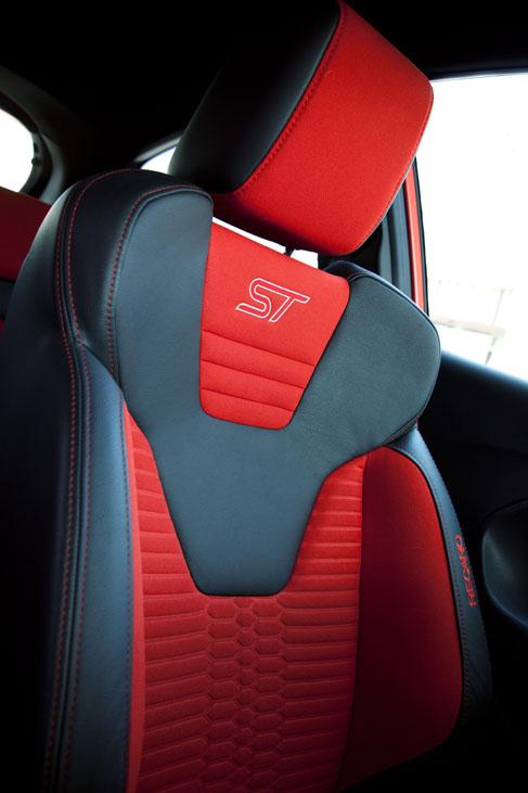 Ford Fiesta ST Sitz