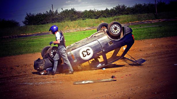 Unfall 24h Rennen von Fuglau