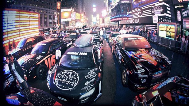 Gumball takes over Times Square 2012