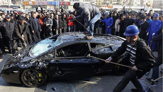 Lamborghini und Maserati in China