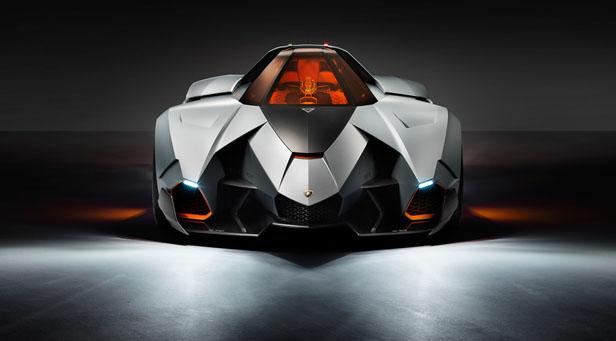 Lamborghini Egoista statisch vorne