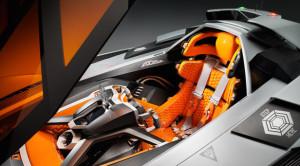 Lamborghini Egoista Interieur