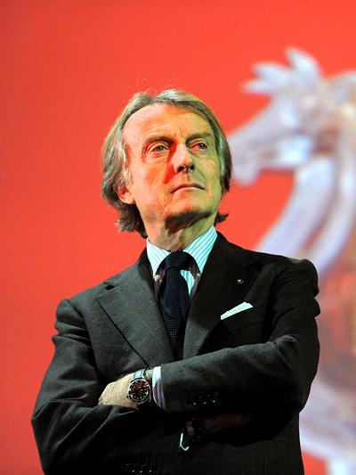 Luca di Montezemelo - der wahre Herrscher in Italien.