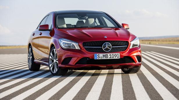 Mercedes-Benz CLA statisch vorne rechts