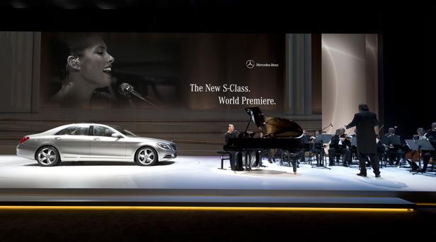 Mercedes-Benz S-Klasse Präsentation Gäste