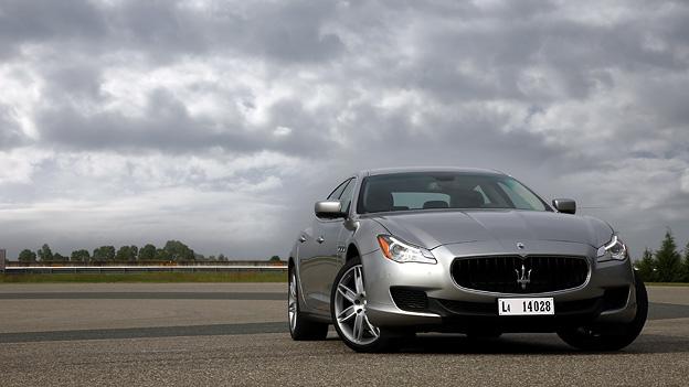 Der Maserati Quattroport V6. Nie hatte Downsizing mehr klang.