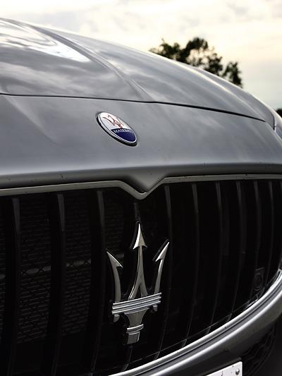 Wuchtig aber Elegant. Kernkompetenz von Maserati.