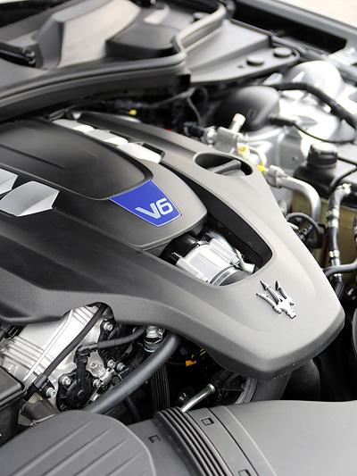 Herzstück des Maserati Quattroporte V6.