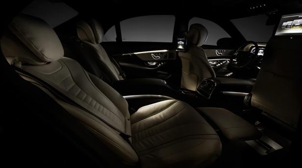 Mercedes S-Klasse Innenraum