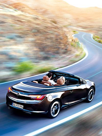 Opel Cascada - In 17 Sekunden von Zu bis Offen.