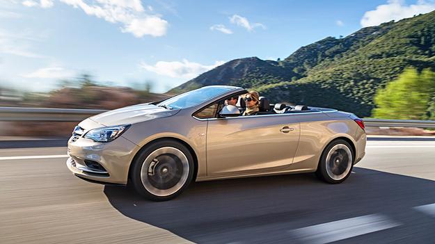 Opel ließ die Cabrio-Variante des Astra in Richtung Insignia wachsen.