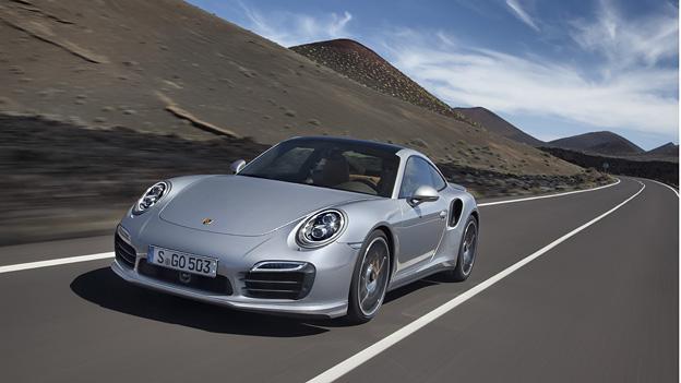 Der neue Porsche 911 Turbo ist ab Ende September zu haben.
