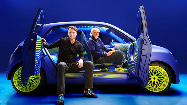 Renault Twin'Z Ross Lovegrove, Laurens van der Acker