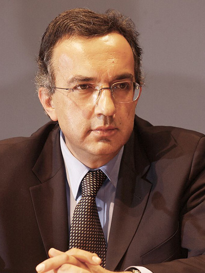 Sergio Marchionne muss nur bis zur Rente (von Montezemolo) durchhalten.