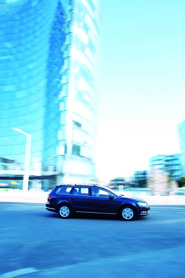 VW Passat Dauertest – dynamisch rechts