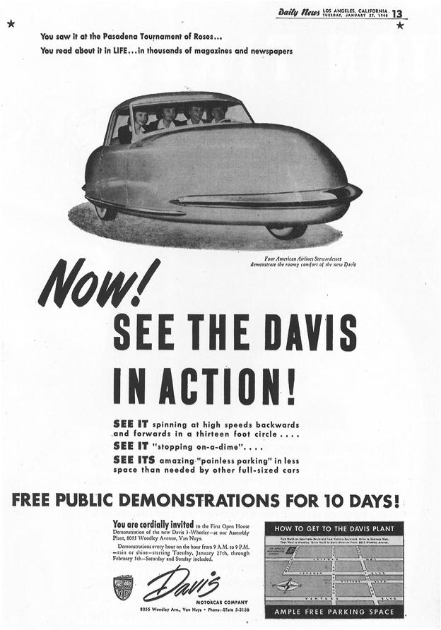 1948 - Davis Motorcar Company