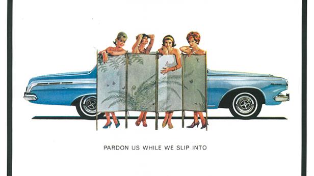 Werbung für den Dodge Polara aus dem Jahr 1963.