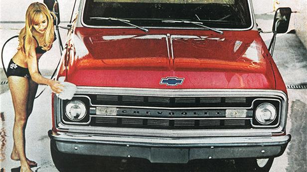 1970 - Chevrolet Pickup Werbung