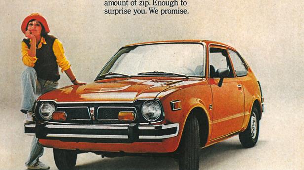1975 - Honda Civic
