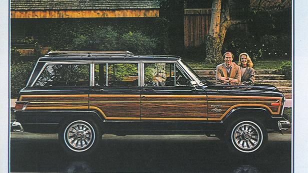 Jeep Wagoneer Werbung von 1982.