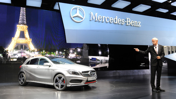 Praesentation A-Klasse Mercedes, Dieter Zetsche