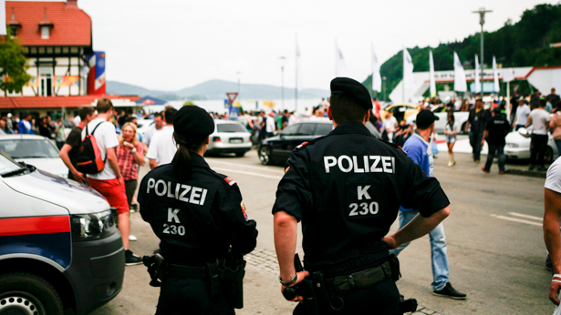 GTI Treffen 2013: Polizei Kontrolle