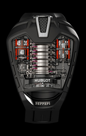 hublot mp 05 la ferrari uhr mit schlagschrauber. Black Bedroom Furniture Sets. Home Design Ideas