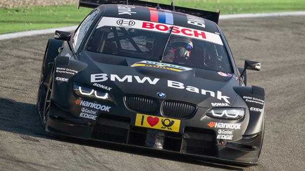 BMW Pilot Bruno Spengler auf Pole in Spielberg