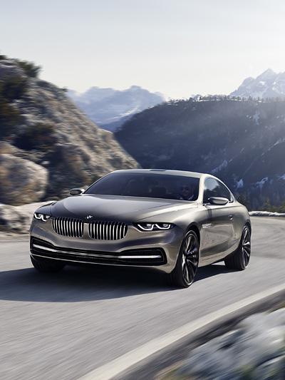 BMW Gran Lusso Pininfarina Coupe