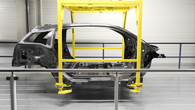 BMW i3 Elektroauto Produktion