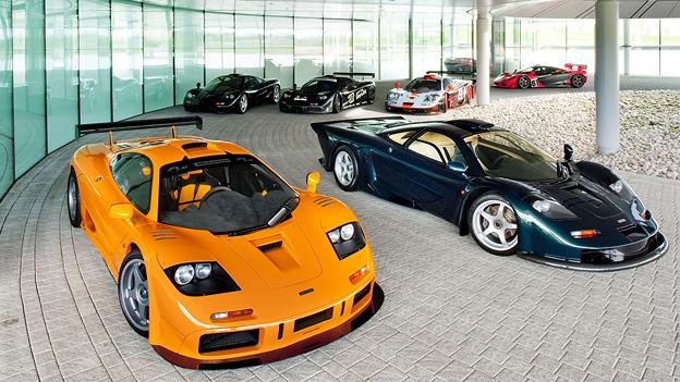 20 Jahre McLaren F1 Bruce McLaren McLaren M6GT