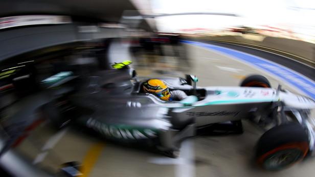 Hamilton in Silverstone