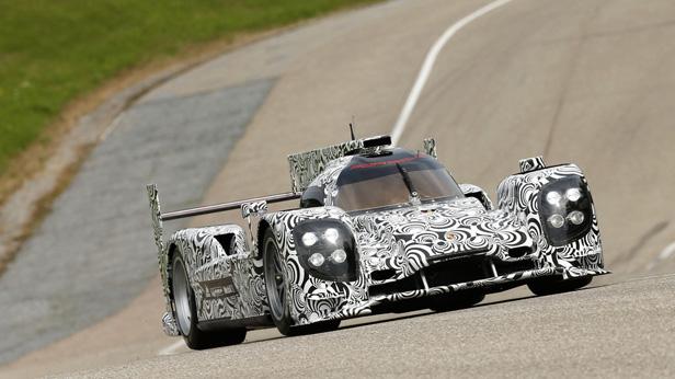 Rollout Porsche LMP1