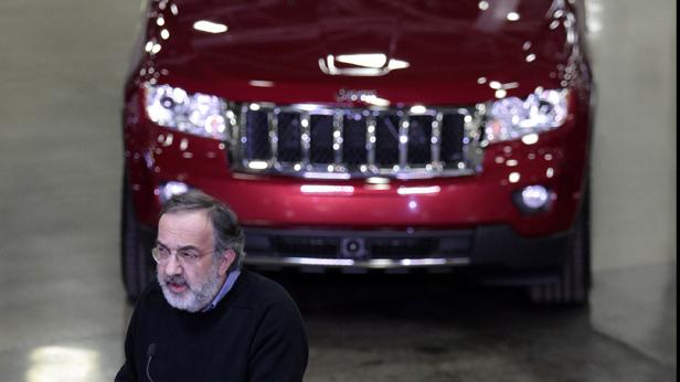 Der Chrysler Konzernchef Sergio Marchionne