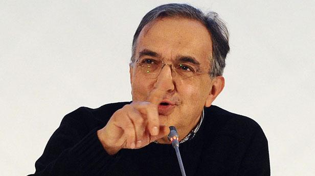 Sergio Marchionne. CEO Fiat