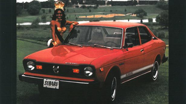 Subaru Werbung 1974