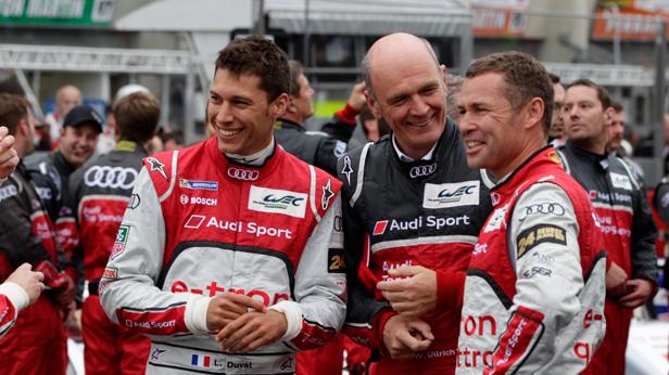 Dr Wolfgang Ullrich bei den 24 Stunden von Le Mans