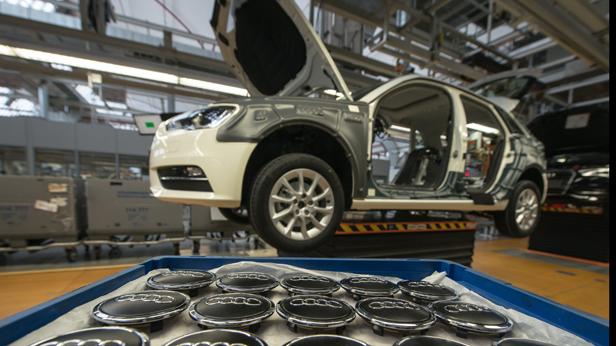 Audi Autoverkaufszahlen postiv
