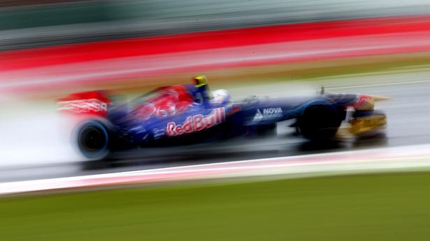 Daniel Ricciardo in Silverstone - Training