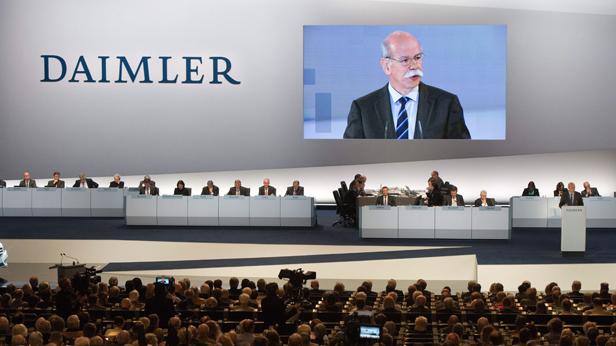 Daimler erziehlt Absatzrekord in Deutschland