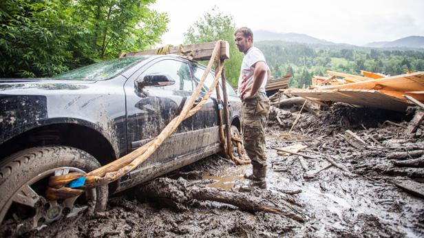 Hochwasserschaden Österreich 2013