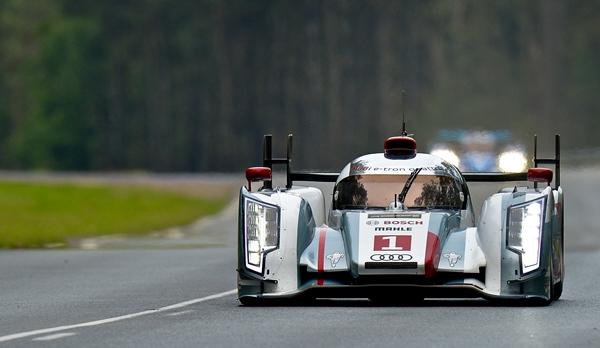 Audi R18 gaben beim Qualifying den Ton an.