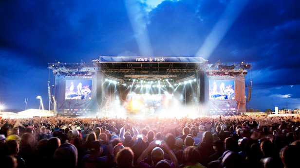 Nova Rock Festival Bühne